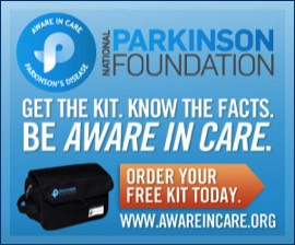 Image of Parkinson Foundation Aware in Care kit
